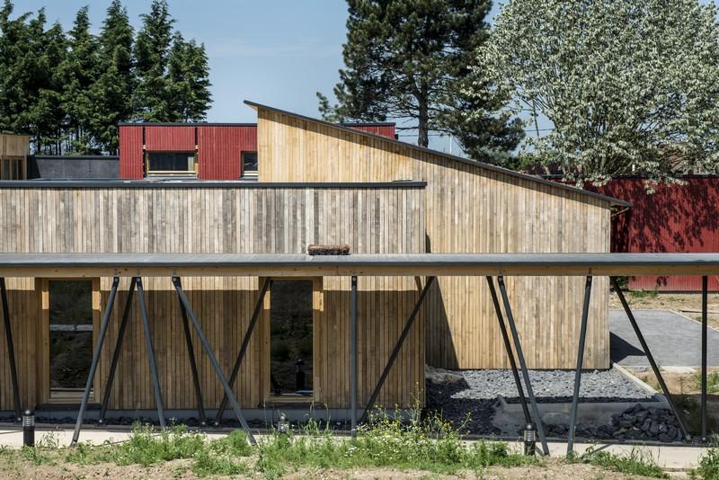 centre multi accueil de la petite enfance de courcelles les lens laurent baillet architecte dplg. Black Bedroom Furniture Sets. Home Design Ideas